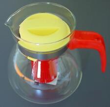 Feuerfeste Glaskanne Teekanne Paola von SIMAX 1,3 l inkl. Teesieb Einsatz NEU