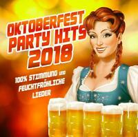 OKTOBERFEST PARTY HITS 2018   CD NEU