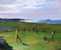 Berwick Golf Course Ireland  :  John Lavery  :  Archival Quality Art Print