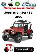 Jeep Wrangler (TJ) 2002 Factory Workshop Repair Manual