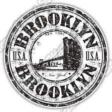 Brooklyn New York USA United States Car Bumper Window Vinyl Sticker Decal 4.6""