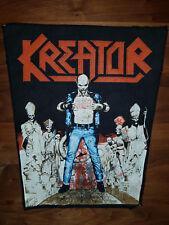 KREATOR Terrible Certainty vintage backpatch aufnäher metal kutte Sodom Slayer