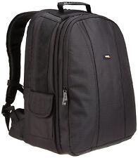 AmazonBasics DSLR and Laptop Backpack With Orange Interior SM1303003B