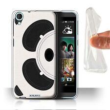 Stuff4 Gel/tpu Case/cover for HTC Desire 820/animal Stitch Effect Panda