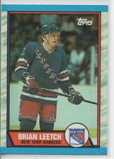 1989-90 TOPPS BRIAN LEETCH ROOKIE