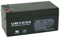 UPG Replacement part For Toro Lawn mower # 106-8397 BATTERY-12 VOLT