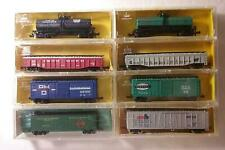 Vintage ATLAS AHM MINITRAINS - Lot of 8 Different Trains - N Scale - NEW IN BOX