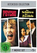 PSYCHO (Anthony Perkins) + IM SCHATTEN DES ZWEIFELS (Joseph Cotten) 2 DVDs NEU