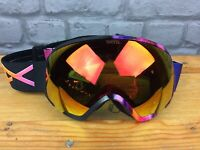 ANON WMI MFI GOGGLES AURA BLACK RED SOLEX SNOWBOARDING SKIING RRP £185 EP