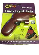 Light Keeper Pro Christmas lights tester repair tool tree fixer holiday fixing