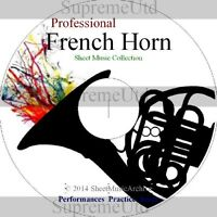 Massive Professional French Horn Sheet Music Collection Archive Library on DVD