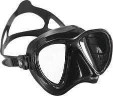 Big Eyes Evo schwarz black/black Tauchmaske von Cressi Sub mit schmalem Rahmen