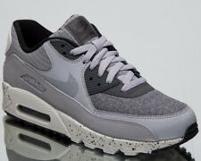 hot sale online 48a75 56b5d Nike Air Max 90 Premium Men s New Neutral Wolf Grey Casual Sneakers  700155-016