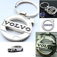 VOLVO Car Reflective Chrome 3D Logo Keychain Metal Keyring Keyfob Key Chain