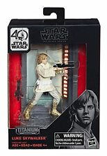 Star Wars Black Series Titanium Series Diecast Luke Skywalker Figure Hasbro