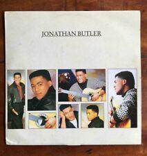 Jonathan Butler [1988]  Vinyl LP R&B & Soul Funk Smooth Jazz Overflowin  Jive