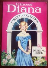 Princess Diana Fashion Collection Dressing Book Paper Doll Activity Coloring