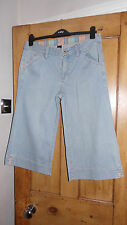 Women's Gap Denim Blue Over The Knee Trouser - Size 12