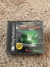 Command and Conquer Red Alert Playstation 1 PS1 Video Game Black Label Complete