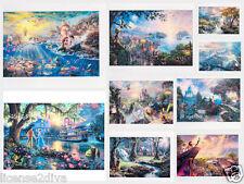 "DISNEY POSTCARDS FRAMEABLE PICTURES 4"" X 6"" #disneypostcards #bambi #snowwhite"