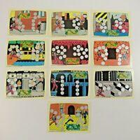 Vintage Nintendo 1989 Trading Cards Double Dragon Complete Set #1-10