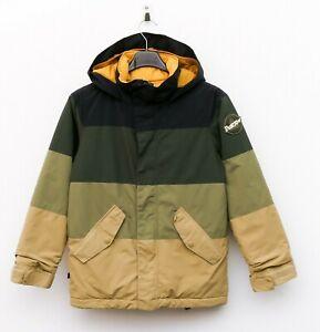 Burton Dryride Jugend Jungen Kinder M Ski Jacke Snowboard Mantel mit Kapuze 140