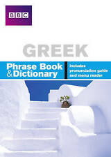BBC GREEK PHRASEBOOK & DICTIONARY by Phillippa Goodrich (Paperback, 2005)