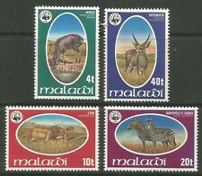 STAMPS-MALAWI. 1978. WWF Animals Set. SG: 567/70. Mint Never Hinged