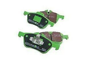 EBC Avant Greenstuff Plaquettes de Frein DP21498 Extension Performance Patin
