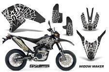 AMR Racing Yamaha WR250 R/X Graphic Kit Bike Decal MX Parts 07-15 WIDOW WHITE