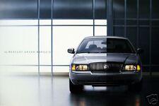 2003 Mercury Grand Marquis sedan new vehicle brochure