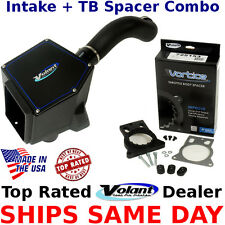 Volant PowerCore #151536 + Vortice TB Spacer #725153 Combo Chevy GMC 99-07 V6 V8