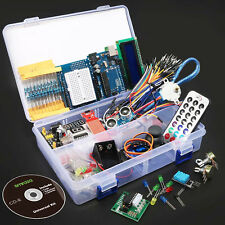 Ultimate Starter Kit UNO R3 Arduino LCD Stepper Servo Ultrasonic Motor 1602