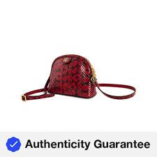 Gucci Damas Bolso de Hombro Piel De Serpiente pequeño Ophidia 499621 LZX0G 6433