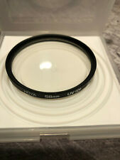 HOYA 58mm UV(O) Lens UV Filter Made in Japan Used