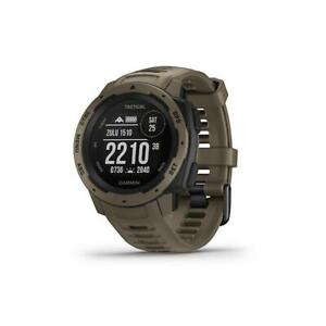 Garmin INSTINCT TACTICAL Smartwatch Watch Silicone Brown GPS 010-02064-71