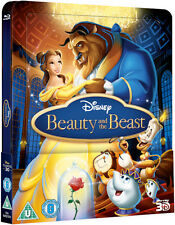 Beauty and the Beast - Limited Lenticular Steelbook (Blu-ray 2D/3D) BRAND NEW!!