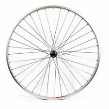 Ruedas bicicletas híbridas color plata para bicicletas