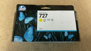 B3P21A B3P21AE HP # 727 YELLOW INK CARTRIDGE Designjet T1500 T1530 T2500 T2530