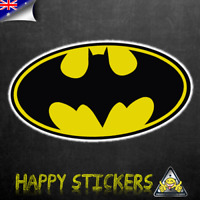 Batman Batwing Symbol Luggage Car Skateboard Laptop Scooter Vinyl Decal Sticker