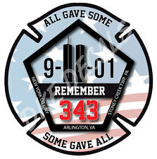 Remember 9-11 Memorial Window Sticker Decal 4 Inch World Trade Center