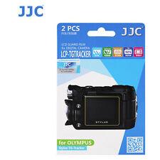 JJC LCP-TG ultra hard polycarbonate LCD Film Screen Protector Olympus TG TRACKER