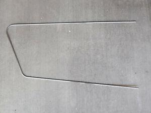 1958-1962 Alfa Romeo Giulietta Sprint RH Door Panel Stainless Trim Strip