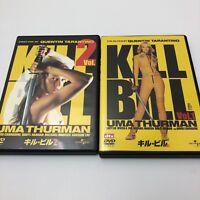 Kill Bill DVD JAPAN 1 & 2 set SAMURAI UMA THURMAN