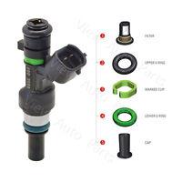 4 set For 09-11 Nissan Versa 1.6L Fuel Injector Repair Seal Cap Kit 16600ED000