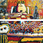 """34W""""x15H"""" LAST SUPPER by TOM EVERHART - CHARLIE BROWN SNOOPY CHOICES of CANVAS"""