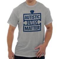 Autistic Lives Matter Support Autism Awareness Run Walk Classic T Shirt Tee