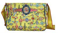 Oilily Fairy Tapes Handtasche Tasche Freizeittasche Schultertasche A4 - Yellow