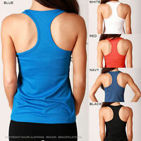 Gym Singlet Ladies Back New T Fitness Threadz Yoga Tank Top Workout Sports Women