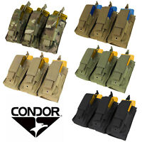 Condor Tactical MA55 Triple Kangaroo Magazine Pouch Rifle/Pistol MOLLE PALS